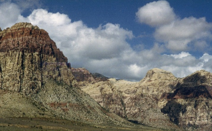 God will make away in the wilderness,when there seem to be no way,-- Red Rock Canyon, Nevada